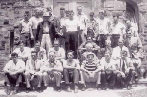 Seagoing cowboy crew of the SS Virginian