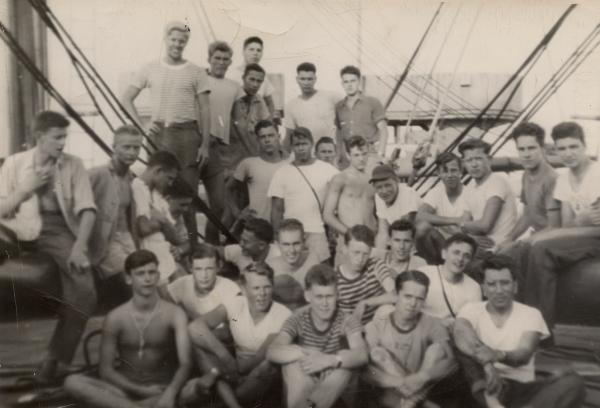 Seagoing cowboy crew of SS Robert W. Hart