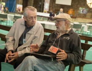 Walter Hochstedler and Robert Epp share stories.