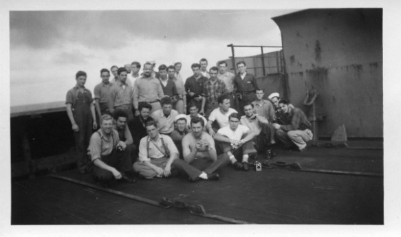 Morgantown Victory crew, 1946