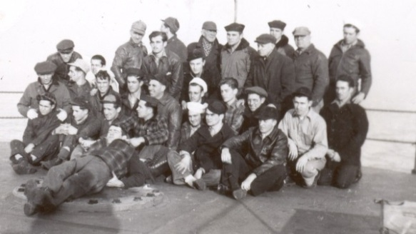 SS Mexican crew, December 1945
