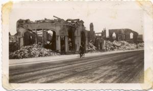 Methodis Church remains, Bremerhaven, Germany, 1946