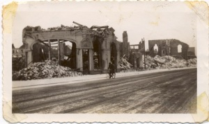 Methodis Church remains, Bremerhaven, Germany, 1946