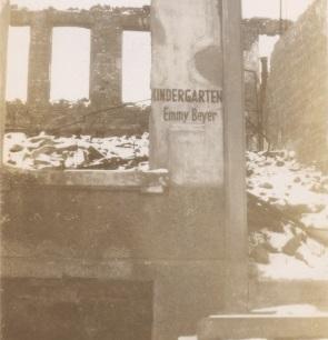 German WWII ruins