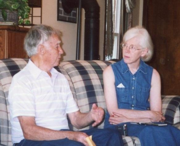 Peggy Reiff Miller interviews Cletus Schrock