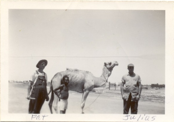 Julius Hornberger in Djibouti, 1947