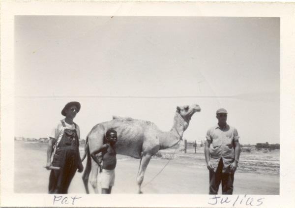 Julius Hornberger in Djibouti, 1947