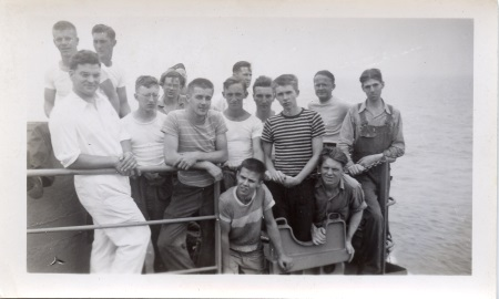 Crew of the SS Zona Gale