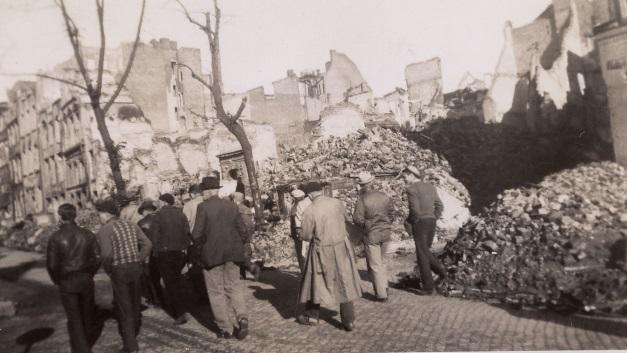 Post-war Gdansk, October 1945