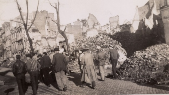 Post-war Gdansk, October 1945