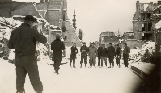Post-war Gdansk, Dec 1945