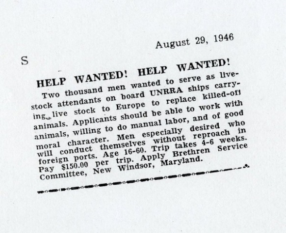 seagoing cowboy ad