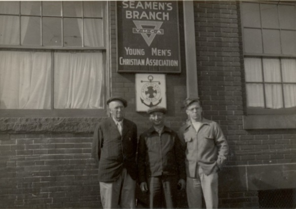 Seagoing cowboys at Seaman's Branch of YMCA in Baltimore.