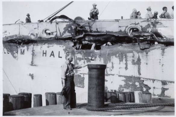 Damage to William S. Halsted.