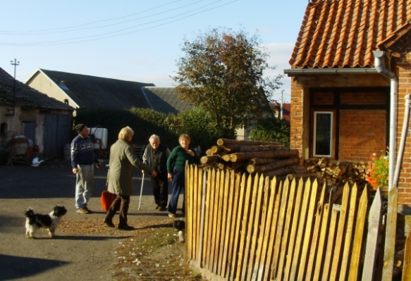 The Alaut farm in Krzywe Koto, Poland, October 2013. Photo credit: Peggy Reiff Miller