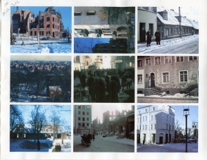 One of the sheets of photos I took with me to identify in Gdansk.