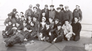 The crew of the S. S. Mexican, November 1945.