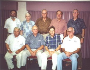 Second reunion of the S. S. Stephen R. Mallory crew, 2001. Photo courtesy of Bill Beck.